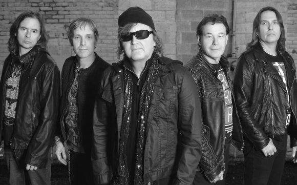 Honeymoon Suite Group Photo B&W 2016