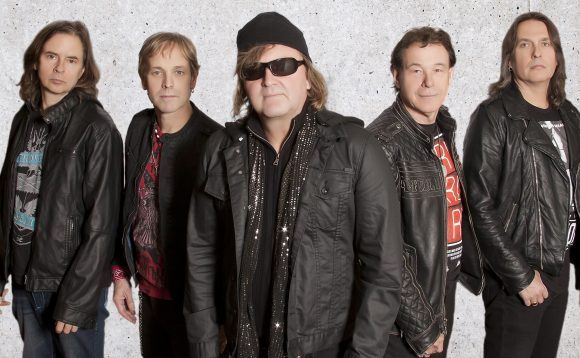 Honeymoon Suite Group Photo Colour 2016